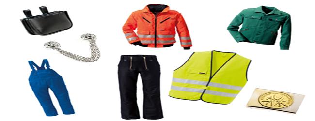 Arbeits und Schutzbekleidung
